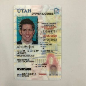 Utah Under 21(UT U21) |BEST Utah Under 21 FAKE ID,FAKE ID Utah Under 21