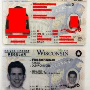 Wisconsin(WI) |BEST Wisconsin FAKE ID,FAKE ID Wisconsin